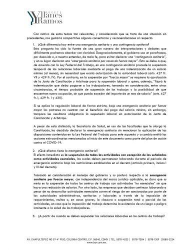 declaracion de emergencia sanitaria por covid 2