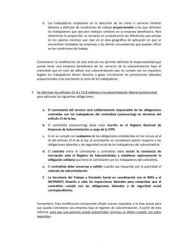 reforma de subcontratacion 2020 2